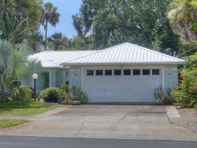 New Smyrna Beach Single Family Home For Sale: 206 Mary Avenue