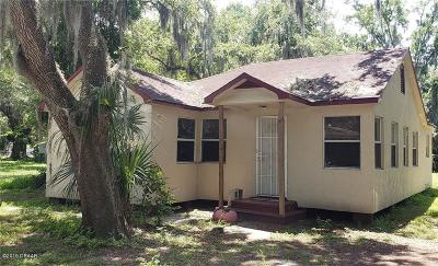Daytona Beach Single Family Home For Sale: 915 Winchester Street