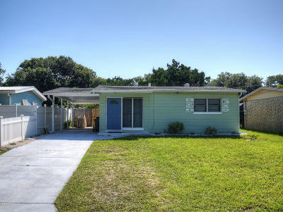 New Smyrna Beach Single Family Home For Sale: 3209 Saxon Drive