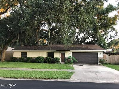 Port Orange Single Family Home For Sale: 114 Cambridge Drive