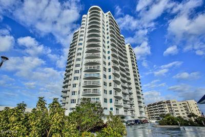 Daytona Beach Shores Condo/Townhouse For Sale: 2 Oceans West Boulevard #1008
