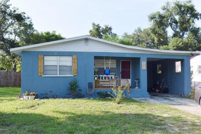 Daytona Beach Single Family Home For Sale: 1301 Ginsberg Drive