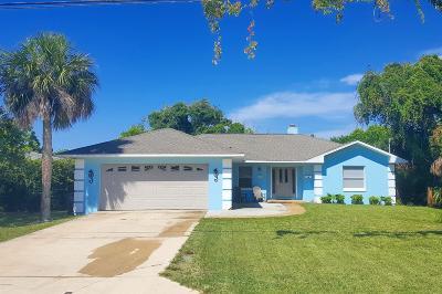 Ormond Beach Single Family Home For Sale: 468 S Halifax Drive
