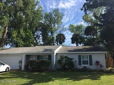 South Daytona Single Family Home For Sale: 1981 Red Cedar Circle
