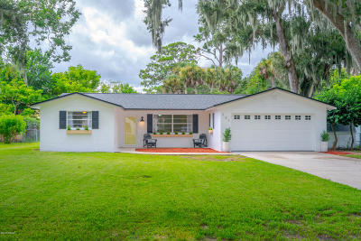 South Daytona Single Family Home For Sale: 701 Doris Place