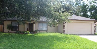 South Daytona Single Family Home For Sale: 2969 Windle Lane