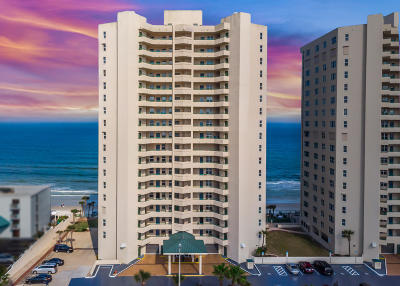 Daytona Beach Shores Condo/Townhouse For Sale: 3311 S Atlantic Avenue #404