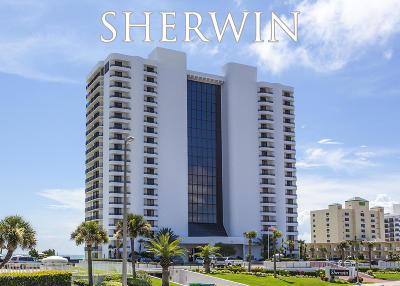 Daytona Beach Shores Condo/Townhouse For Sale: 2555 S Atlantic Avenue #1205