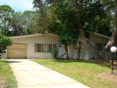 Port Orange Single Family Home For Sale: 5476 W Bayshore Drive