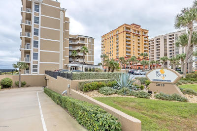 Daytona Beach Shores Condo/Townhouse For Sale: 2855 S Atlantic Avenue #101