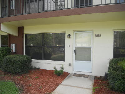 Daytona Beach Condo/Townhouse For Sale: 108 Lacosta Lane # 513