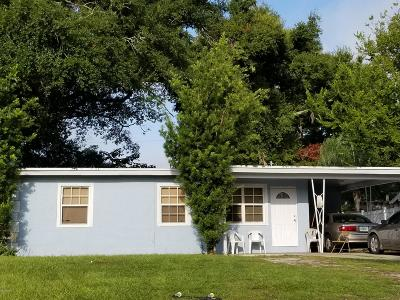 Daytona Beach Single Family Home For Sale: 628 Colfax Drive