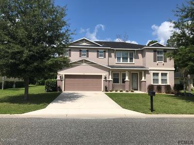 Palm Coast Single Family Home For Sale: 52 Rollins Lane