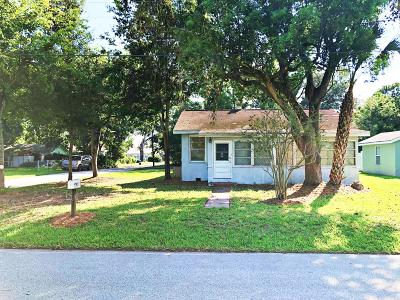 Holly Hill Single Family Home For Sale: 13 William Drive
