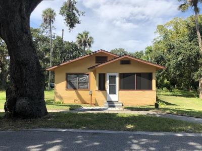 Daytona Beach Single Family Home For Sale: 506 South Street