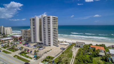 Daytona Beach Shores Condo/Townhouse For Sale: 3855 S Atlantic Avenue #605