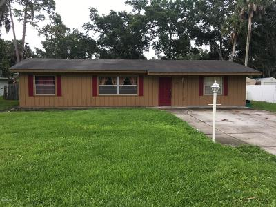 Edgewater Single Family Home For Sale: 1863 Needle Palm Drive