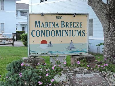 Daytona Beach Condo/Townhouse For Sale: 500 S Beach Street #F3