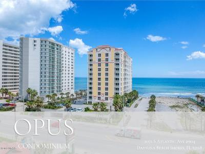 Daytona Beach Shores Condo/Townhouse For Sale: 2071 S Atlantic Avenue #904
