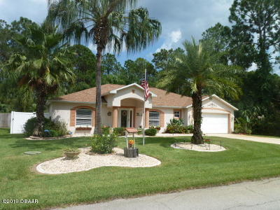 Palm Coast FL Single Family Home For Sale: $292,000