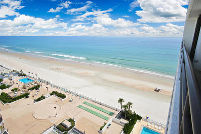 Daytona Beach Shores Condo/Townhouse For Sale: 3013 S Atlantic Avenue #1206
