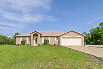 Deltona Single Family Home For Sale: 40 Bethel Loop Circle