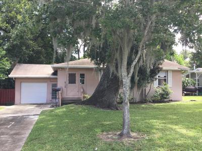 Daytona Beach Single Family Home For Sale: 209 S Seneca Boulevard