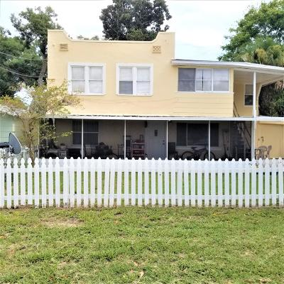 Holly Hill Multi Family Home For Sale: 209 10th Street