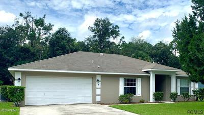Palm Coast Single Family Home For Sale: 4 Sedley Place
