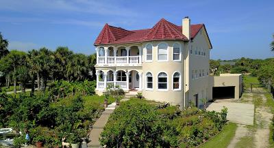 Flagler Beach Single Family Home For Sale: 3164 N Ocean Shore Boulevard