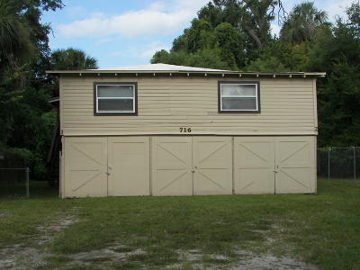 Daytona Beach Multi Family Home For Sale: 716 Marion Street
