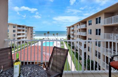 New Smyrna Beach Condo/Townhouse For Sale: 4155 S Atlantic Avenue #411