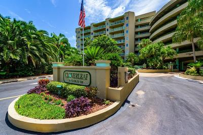 Daytona Beach Shores Condo/Townhouse For Sale: 4 Oceans West Boulevard #205B