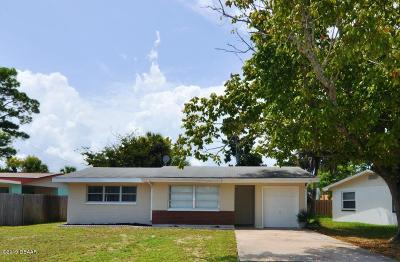 South Daytona Single Family Home For Sale: 2440 Yale Road