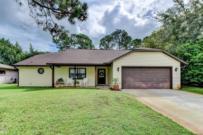 Palm Coast Single Family Home For Sale: 58 Wedgewood Lane