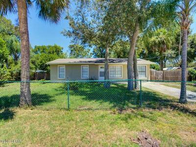 Daytona Beach Single Family Home For Sale: 1233 Carmen Avenue