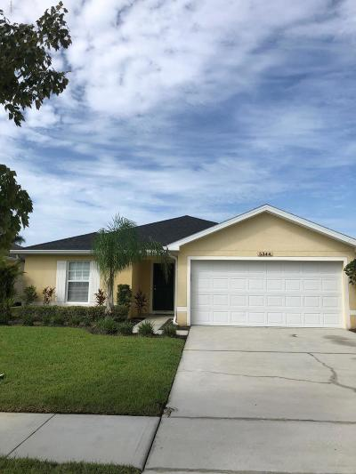 Port Orange Single Family Home For Sale: 5344 Cordgrass Bend Lane