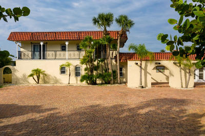 Ponce Inlet, South Daytona, Wilbur-by-the-sea Single Family Home For Sale: 115 Inlet Harbor Road