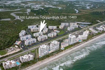 New Smyrna Beach Condo/Townhouse For Sale: 5300 S Atlantic Avenue #15403