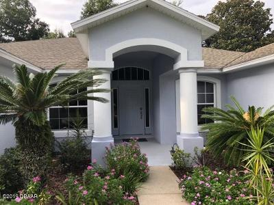 Volusia County Rental For Rent: 1303 Shadow Path Drive