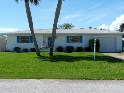 Ormond Beach Single Family Home For Sale: 34 Ocean Crest Drive
