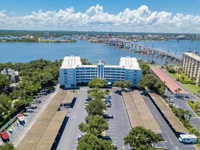 Daytona Beach Condo/Townhouse For Sale: 1224 S Peninsula Drive #515