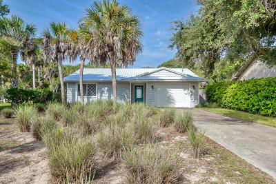 Flagler Beach Single Family Home For Sale: 1732 S Daytona Avenue
