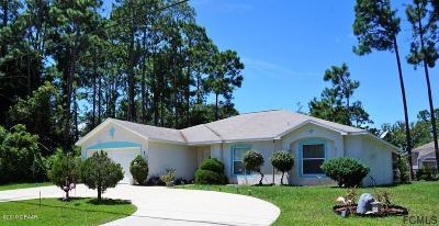Palm Coast Single Family Home For Sale: 7 Barrington Drive