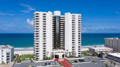 Daytona Beach Shores Condo/Townhouse For Sale: 3757 S Atlantic Avenue #1006