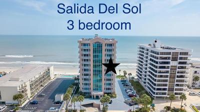 Daytona Beach Shores Condo/Townhouse For Sale: 3737 S Atlantic Avenue #804