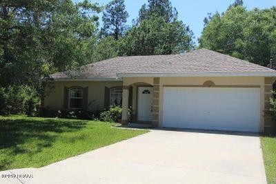 Palm Coast Single Family Home For Sale: 12 Sea Beacon Place