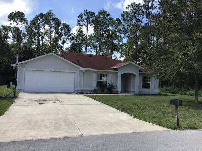 Palm Coast Single Family Home For Sale: 40 Smith Trail
