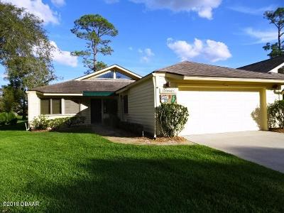 New Smyrna Beach Single Family Home For Sale: 646 Kilmarnock Court