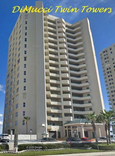 Daytona Beach Shores Condo/Townhouse For Sale: 3315 S Atlantic Avenue #1707